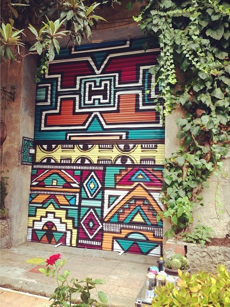 Decoration · Dinamo Studio entrance