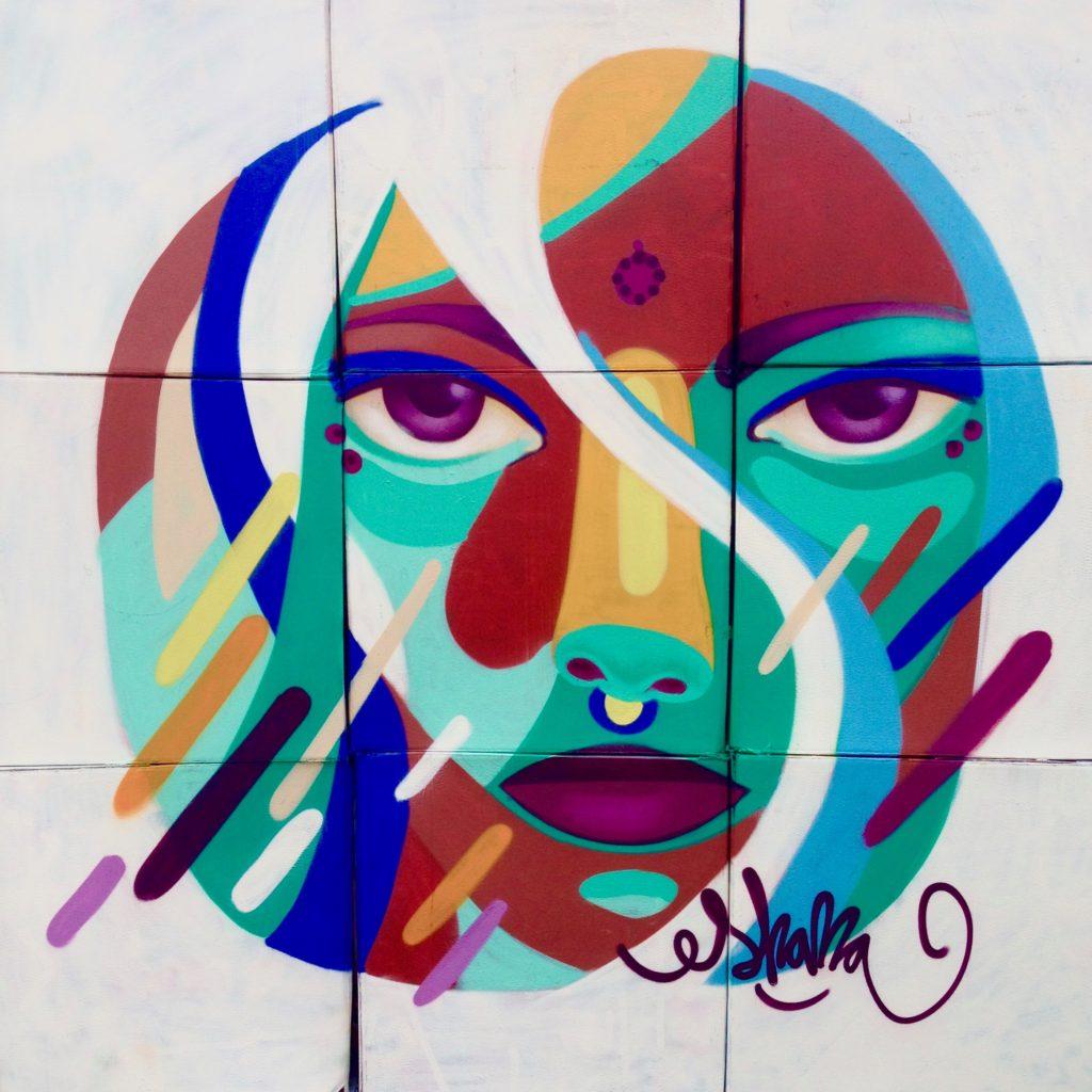 Multicultural face · Hospitalet 2016