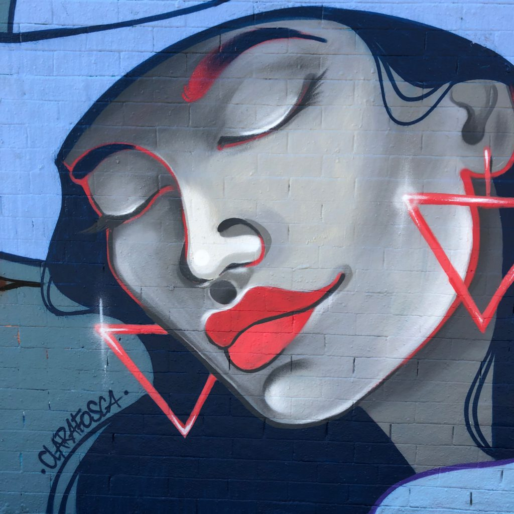 Newtown face, Sydney 2019