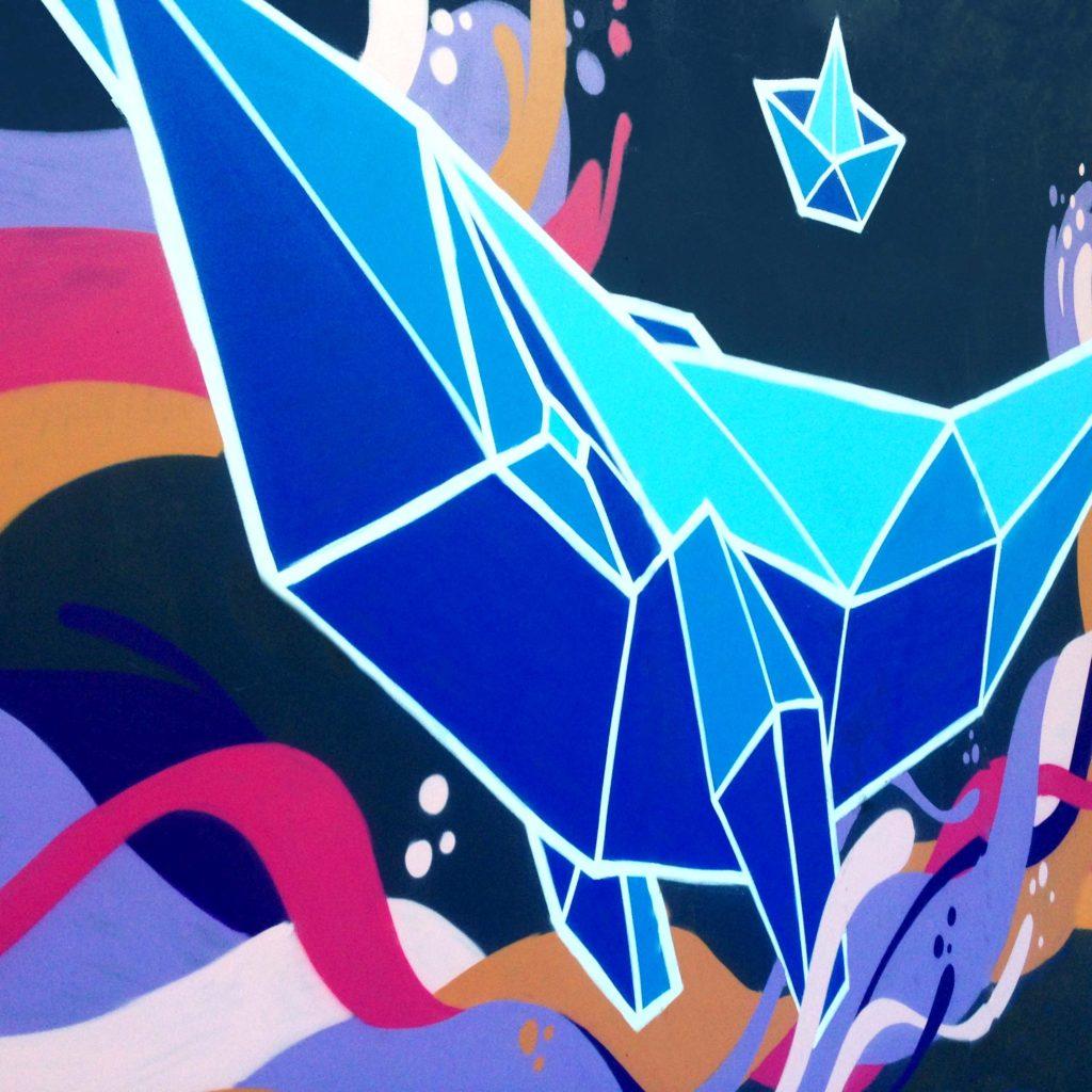 Live Painting · Geometrical Whale · WA