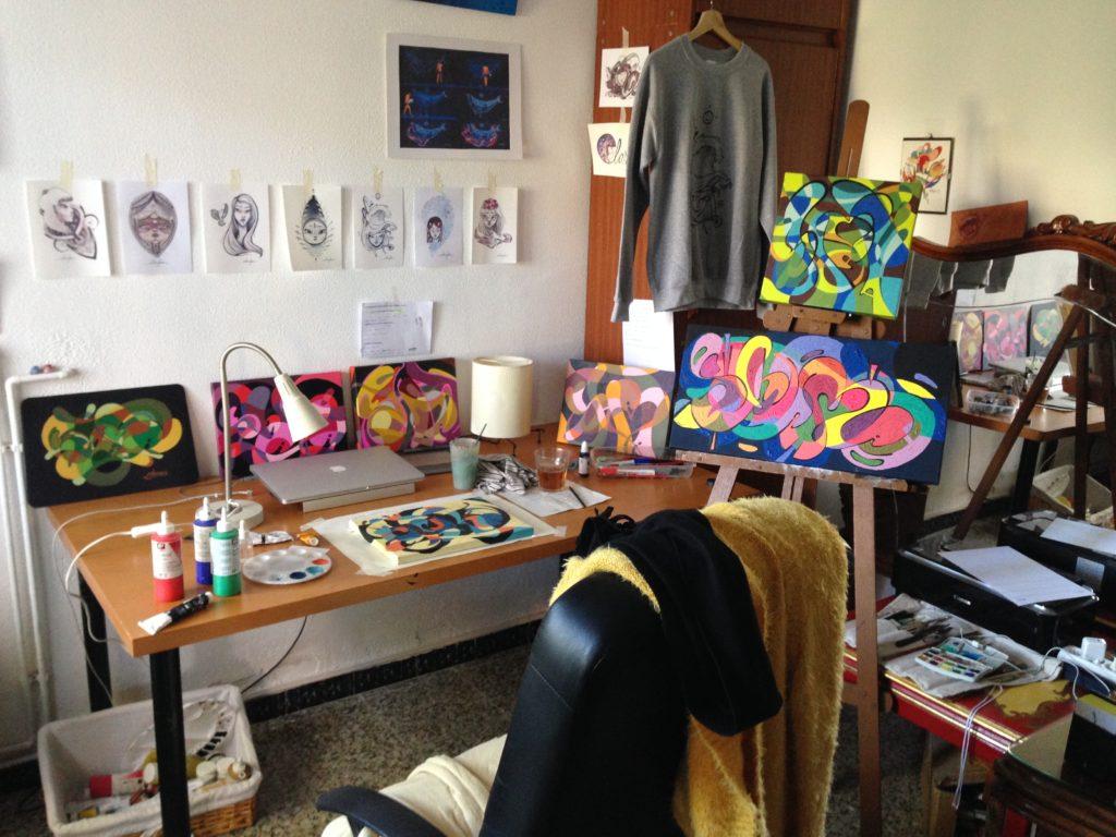 My studio · 2016