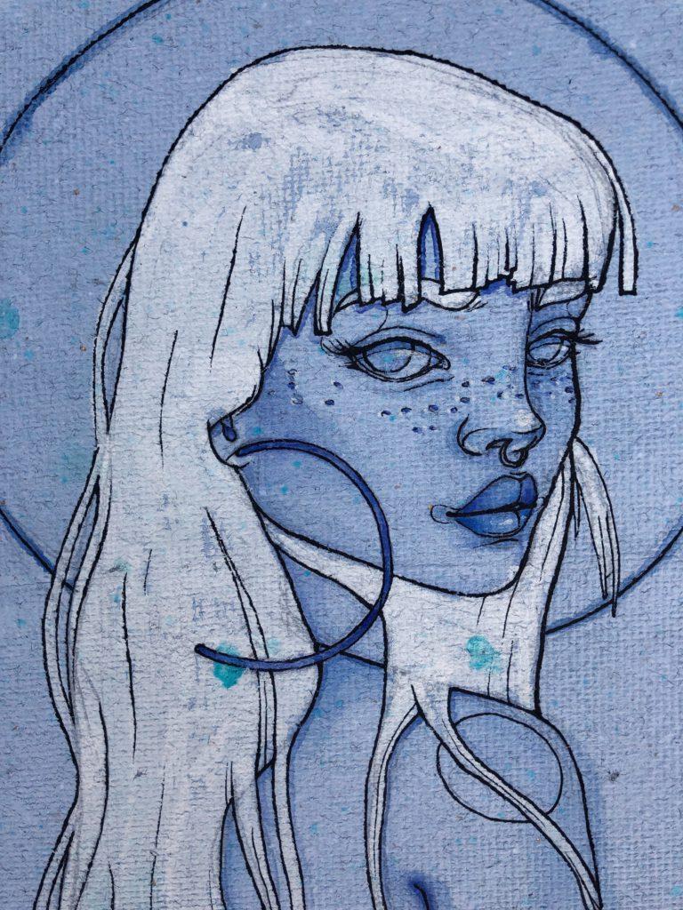 """""""La niña de los blue eyes"""""""