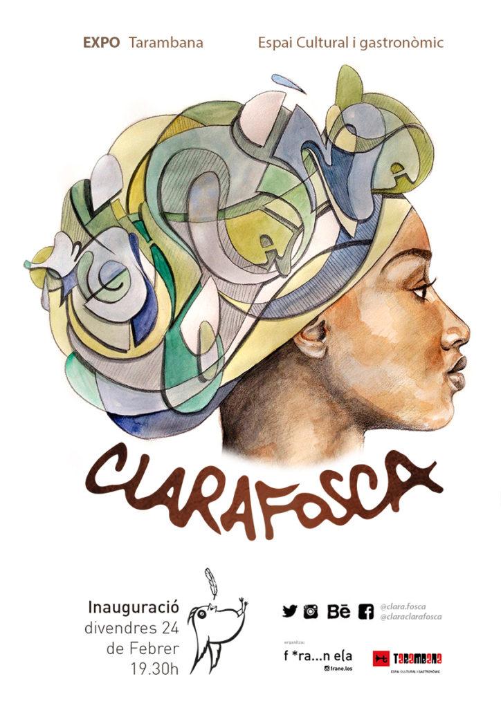 First solo show Clarafosca · Tarambana Cardedeu · 2017